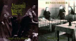 """Abysmal Grief / Runes Order split 12"""" LP"""
