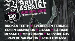 Brutal Assault 23 - Laibach, Messiah, etc